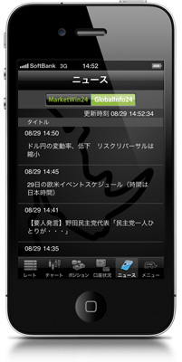 iPhone CymoのGlobalInfo24